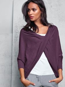 A Kiss of Cashmere Reversible Top